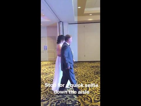 Caitlin & AJ 6.17.17 - a TFE Instagram Wedding Story - Tara Feeley Entertainment