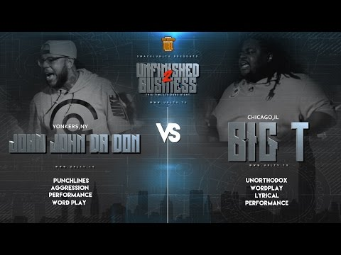 JOHN JOHN DA DON VS BIG T SMACK/URL RAP BATTLE