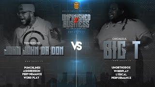 JOHN JOHN DA DON VS BIG T SMACK/URL RAP BATTLE | URLTV