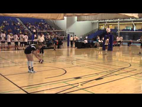 Team Alberta Woman's Volleyball Action