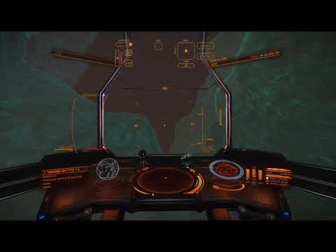 Doing Some Slow Hoonage Out In The Black. (Flight Assist Off)