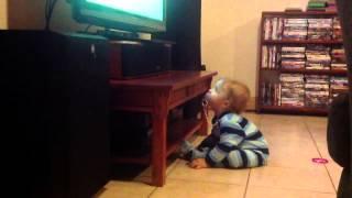 Bastian watching his shows.... Thumbnail