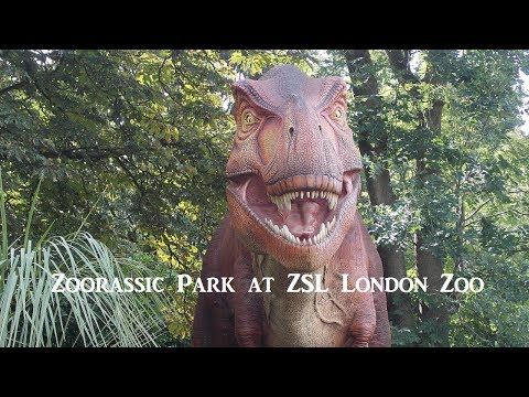 Review : Zoorassic Park at ZSL London Zoo – 22nd July to 3rd September 2017