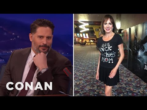 "Joe Manganiello's Mom Has A ""Big Dick Richie's Mom"" T-Shirt  - CONAN on TBS"