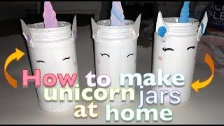 Unicorn Jars DIY