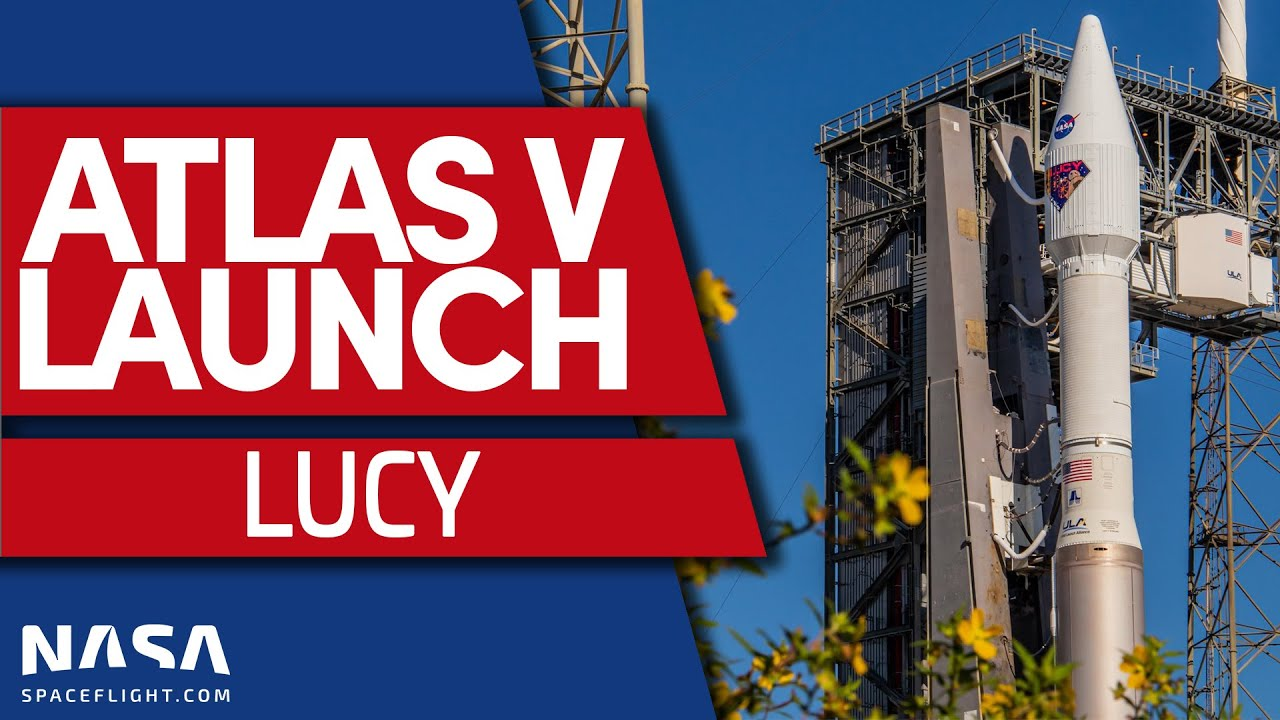 Download Lucy Launches on Atlas V to Hunt Trojan Asteroids