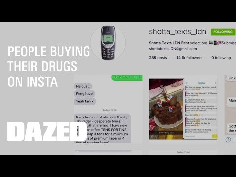 Watch how people are buying their drugs on Insta