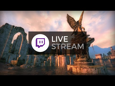 Oblivion (with Graphics Mods) - Twitch Playthrough - Part 1