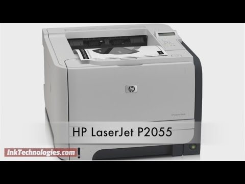 HP LaserJet P2055 Instructional Video