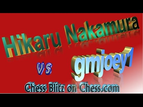 ♚ Hikaru Nakamura vs Rogelio Antonio (gmjoey1) 📺 Chess Blitz on Chess.com 🔔 December 27, 2016