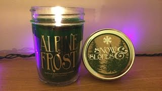 Alpine Frost Candle Review - Bath & Body Works Holiday 2014 Thumbnail