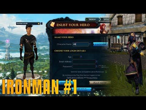 RuneScape: The Fun Begins! - Ironman Progess #1