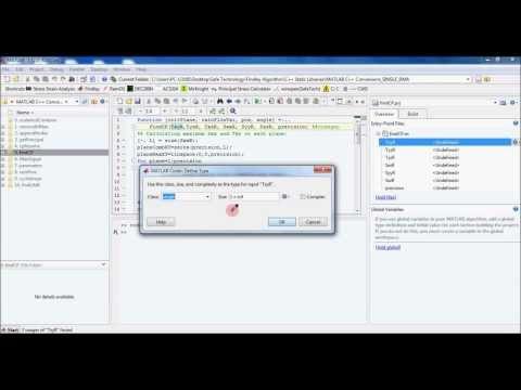 Converting MATLAB To C++