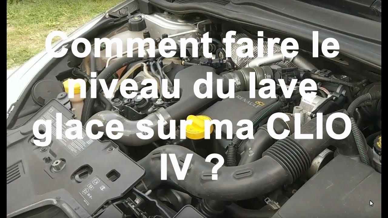 Tuto Comment Faire Le Niveau Lave Glace De Ma Clio 4