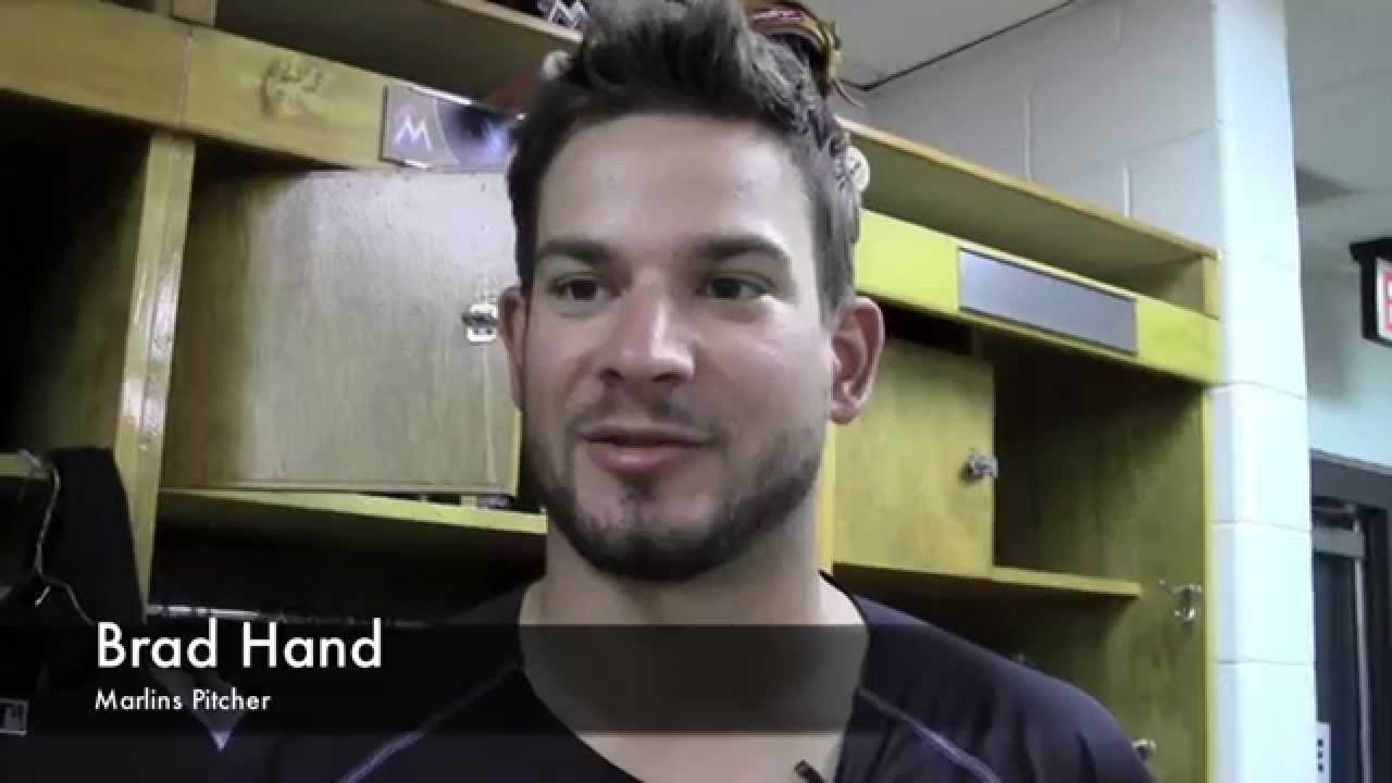Miami Marlins Brad Hand Talks Opening Day