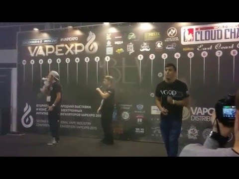 Team VGOD in Moscow VAPE EXPO 2015