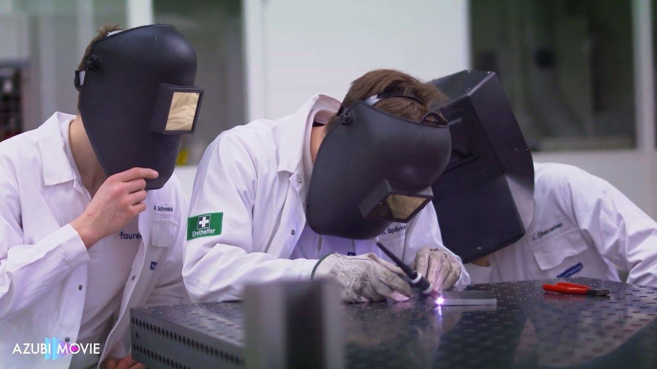 azubimovie - duales studium mechatronik (m/w) - faurecia - youtube