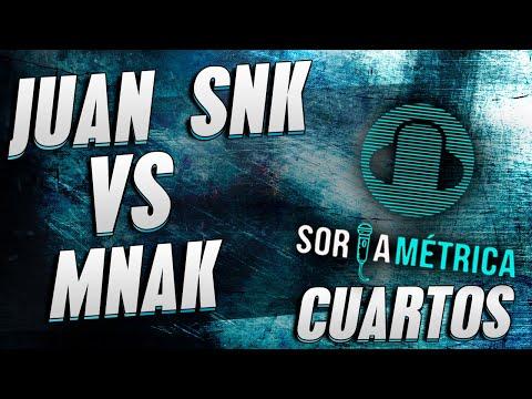 MNAK VS JUAN SNK Cuartos Soria Métrica