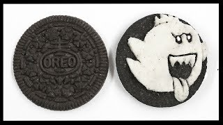 How to Draw King Boo - Oreo Cookie Carving