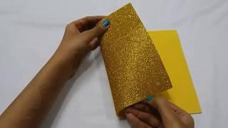 Christmas Decoration Ideas | DIY Mini Paper Christmas Tree | How to make Table top Christmas Tree