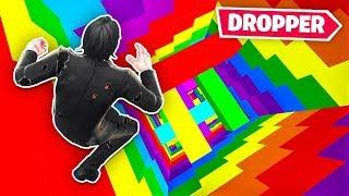 Season 9 RAINBOW DROPPER in Fortnite (Creative Mode)