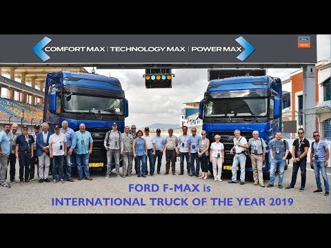 Itoy Jury Drives New Truck Of The Year 2019 Ford F Max