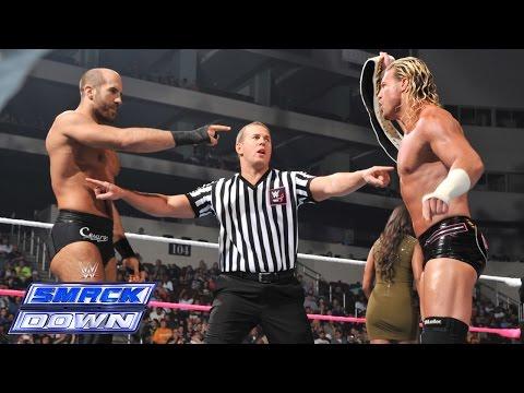 Dolph Ziggler vs. Cesaro - Intercontinental Championship Match: SmackDown, Oct. 24, 2014