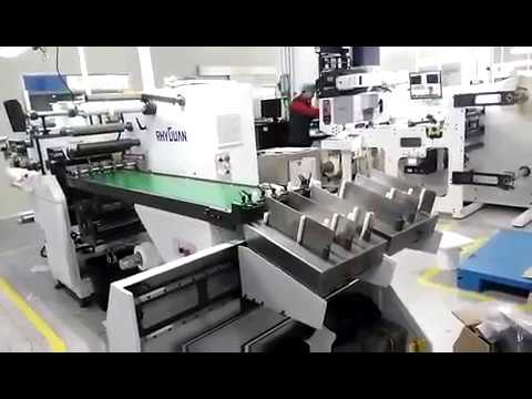 Auto stacker for IML and single layer material cut collection