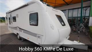 Hobby 560 KMFe De Luxe