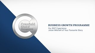 Our Experience - Your Favourite Story - The Business Growth Programme (BGP)