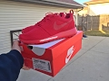 Nike Roshe Run Red / Red October (Unboxing) & (Review) (HD)