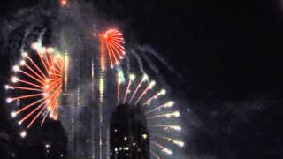 Dubai NYE 2015-2016 Burj Khalifa Fireworks & Address Hotel Fire