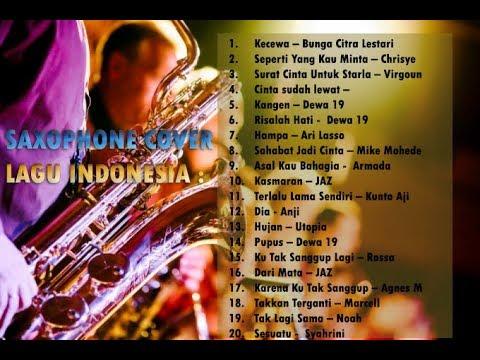 Saxophone Cover 20 Lagu Indonesia - Musik Santai -
