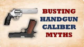 The Best Handgun Caliber - A Real World Study