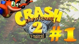 Прохождение Crash Bandicoot 2: N-Tranced (GBA) #1 - Warp Room 1 - кристаллы и камни