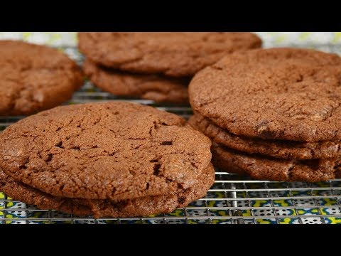 Chocolate Chocolate Chip Cookies Recipe Demonstration - Joyofbaking.com