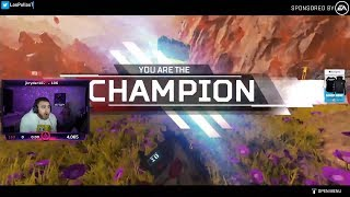 LosPollosTV CARRIED To His First Apex Legends Win In Season 4 (Ft. Kobe0802)