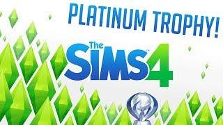 Sims 4 - Platinum Trophy Playthrough! [PS4] #12 [Water Park!]