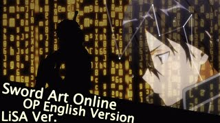 [HD] Sword Art Online OP Creditless Crossing Field English Version