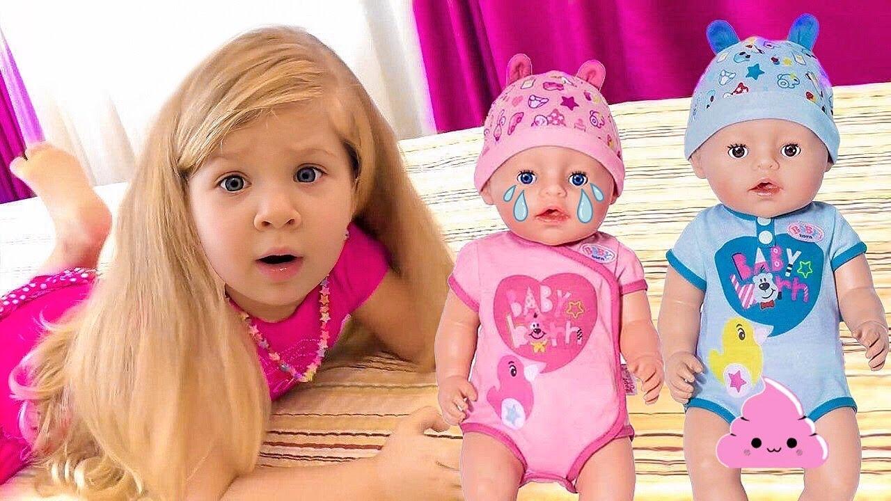 Download Diana and Baby Dolls behind the door