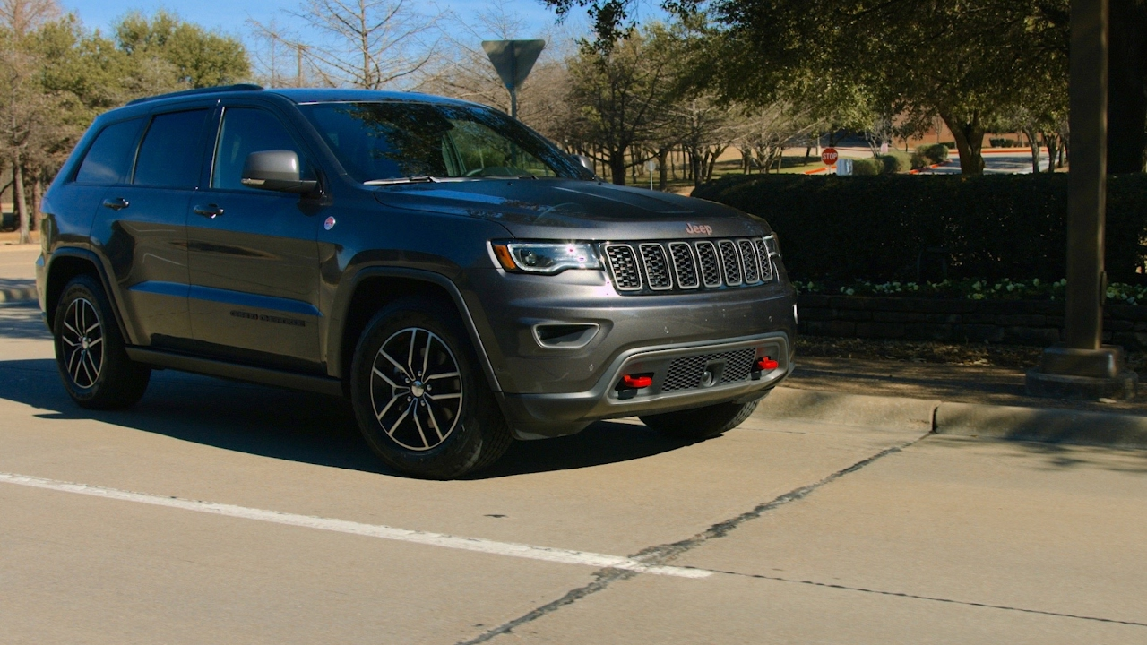 2018 Jeep Grand Cherokee Trailhawk >> 2017 Jeep Grand Cherokee Trailhawk Test Drive