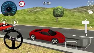 Car Driving School 3D #7 Red Car Ferrari Unlocked Android Gameplay