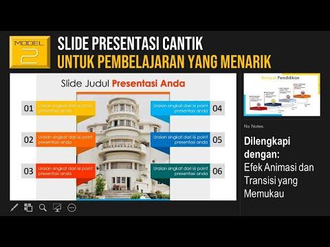 Slide Presentasi Cantik untuk Pembelajaran yang Menarik (Slide KBM 2)