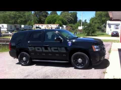 2013 Winona Texas Police Tahoe Installation - YouTube
