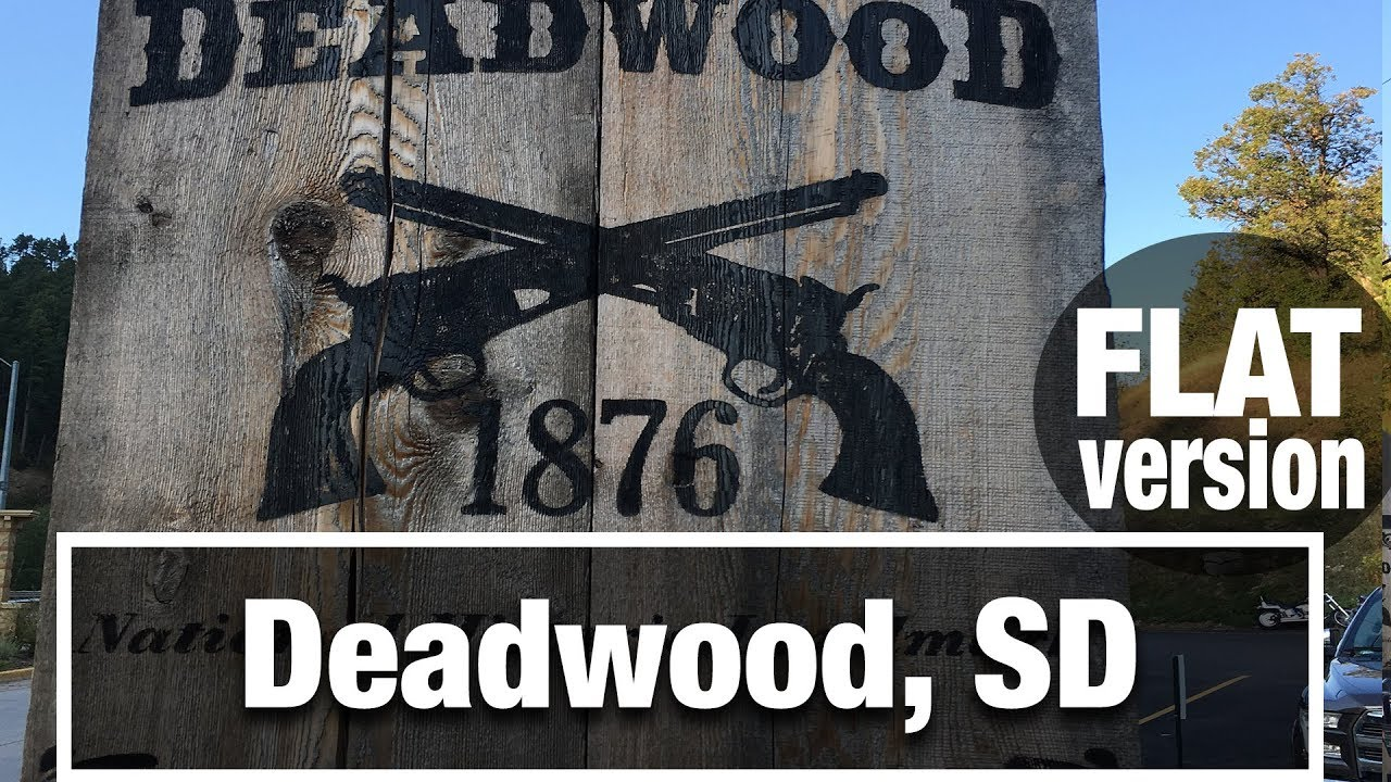 CityWalks: Deadwood, South Dakota walking tour (Flat)