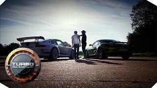 GT3 4.0 vs. Cayman R - Folge 56 | TURBO - Das Automagazin