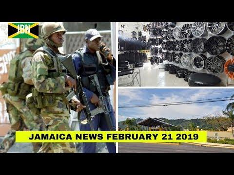 JAMAICA News February 21 2019/JBN | UTECH | Guns Seized | Clan Carthy High| TVJ/CVM News thumbnail