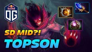 OG.TOPSON Shadow Demon - MID LANE??? - Dota 2 Pro Gameplay