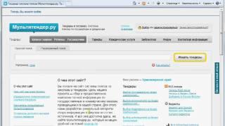 Как зарегистрироваться на Мультитендер.ру