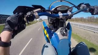 Husaberg FE 450 WHEELIES!! | Köper Ny Motorcykel ;D